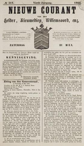 Nieuwe Courant van Den Helder 1864-05-21