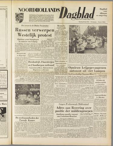 Noordhollands Dagblad : dagblad voor Alkmaar en omgeving 1953-06-22