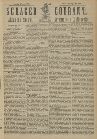 Schager Courant 1911-06-20