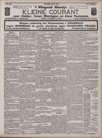 Vliegend blaadje : nieuws- en advertentiebode voor Den Helder 1913-07-23