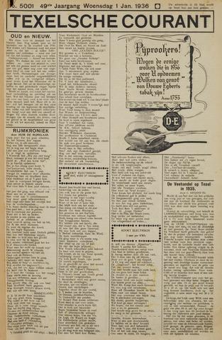Texelsche Courant 1936