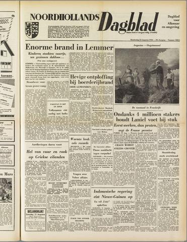 Noordhollands Dagblad : dagblad voor Alkmaar en omgeving 1953-08-13