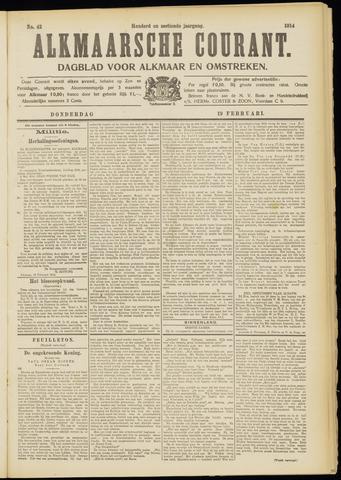Alkmaarsche Courant 1914-02-19