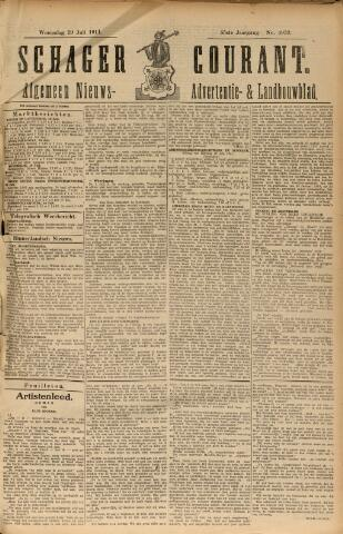 Schager Courant 1911-07-19