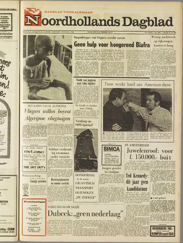 Noordhollands Dagblad : dagblad voor Alkmaar en omgeving 1968-07-27