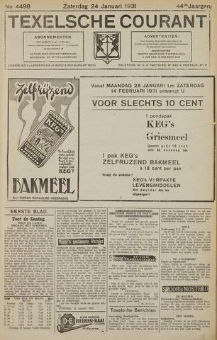 Texelsche Courant 1931-01-24