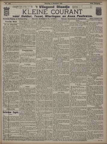 Vliegend blaadje : nieuws- en advertentiebode voor Den Helder 1909-12-04