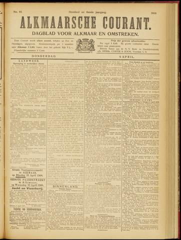 Alkmaarsche Courant 1908-04-09