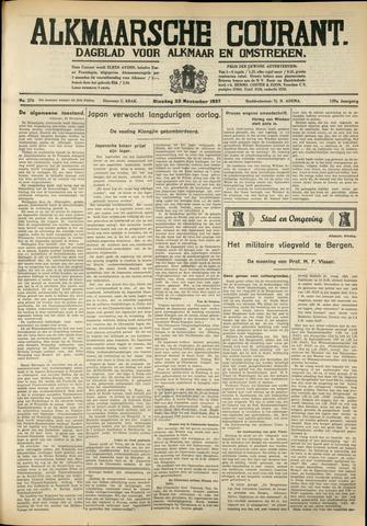 Alkmaarsche Courant 1937-11-23