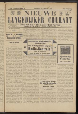 Nieuwe Langedijker Courant 1927-01-15