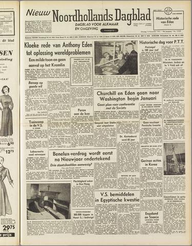 Nieuw Noordhollandsch Dagblad : voor Alkmaar en omgeving 1951-11-13