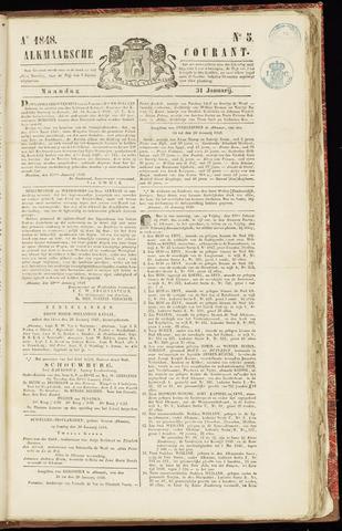 Alkmaarsche Courant 1848-01-31