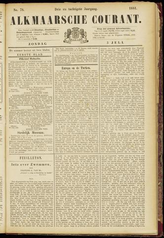 Alkmaarsche Courant 1881-07-03