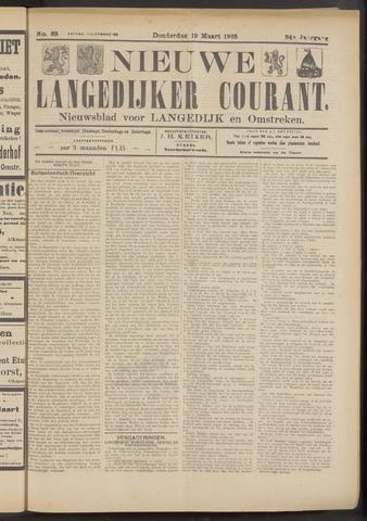Nieuwe Langedijker Courant 1925-03-19