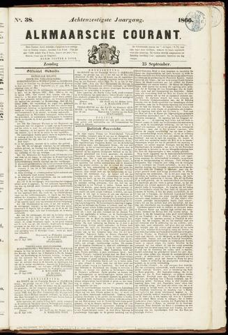 Alkmaarsche Courant 1866-09-23