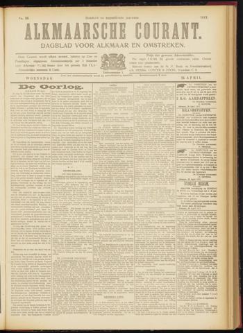 Alkmaarsche Courant 1917-04-25