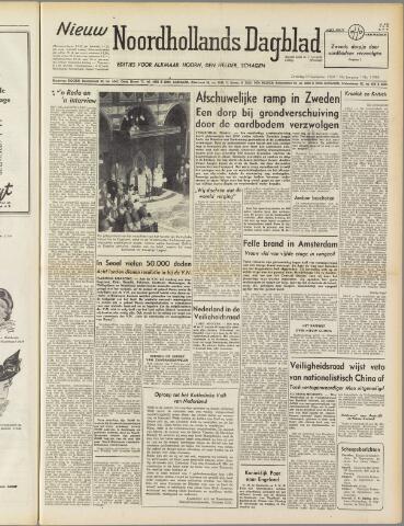 Nieuw Noordhollandsch Dagblad : voor Alkmaar en omgeving 1950-09-30