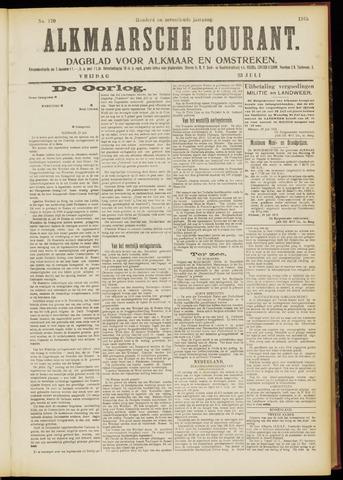 Alkmaarsche Courant 1915-07-23