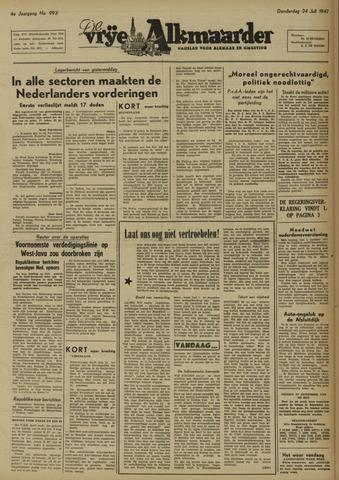De Vrije Alkmaarder 1947-07-24