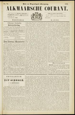 Alkmaarsche Courant 1891-07-15