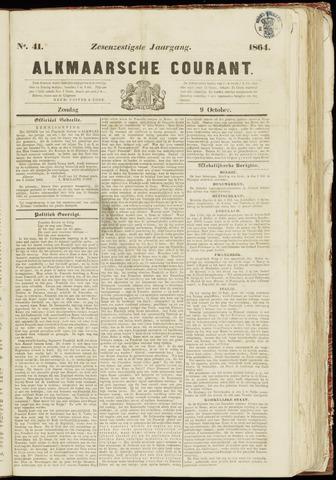 Alkmaarsche Courant 1864-10-09