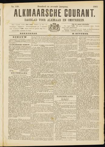 Alkmaarsche Courant 1905-10-12