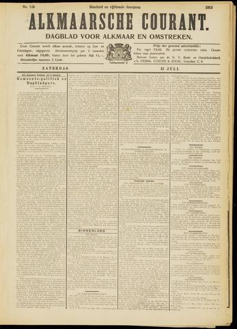 Alkmaarsche Courant 1913-07-12