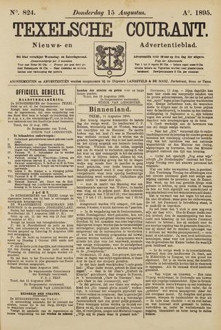 Texelsche Courant 1895-08-15