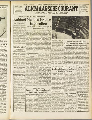 Alkmaarsche Courant 1955-02-05