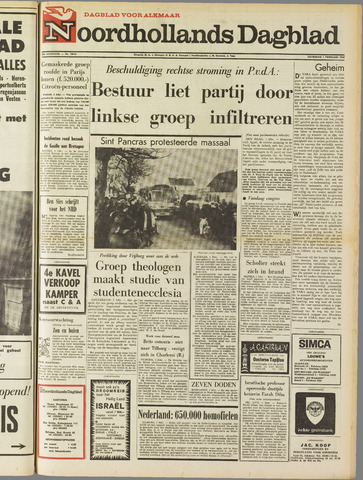 Noordhollands Dagblad : dagblad voor Alkmaar en omgeving 1969-02-01