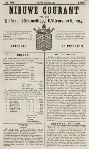 Nieuwe Courant van Den Helder 1865-02-25