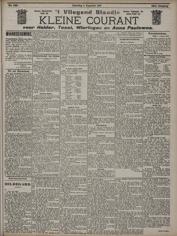 Vliegend blaadje : nieuws- en advertentiebode voor Den Helder 1907-08-03