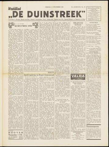 De Duinstreek 1950-12-22