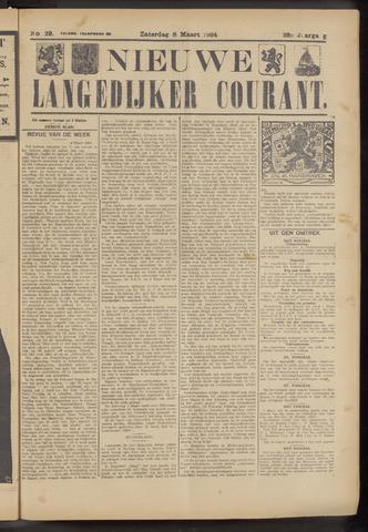 Nieuwe Langedijker Courant 1924-03-08
