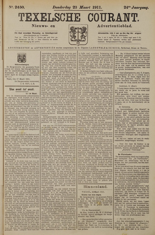Texelsche Courant 1911-03-23