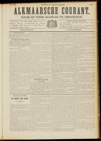 Alkmaarsche Courant 1907-11-13