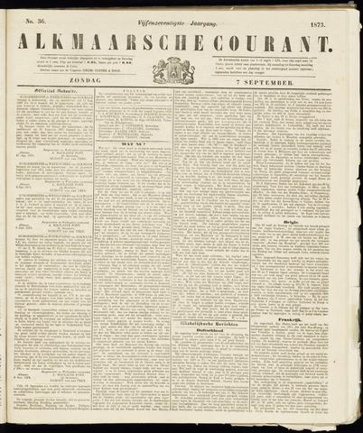 Alkmaarsche Courant 1873-09-07