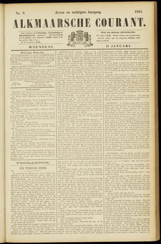 Alkmaarsche Courant 1885-01-21