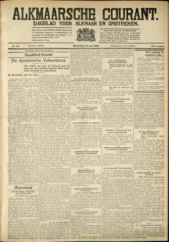 Alkmaarsche Courant 1933-07-12