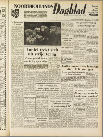Noordhollands Dagblad : dagblad voor Alkmaar en omgeving 1953-12-23