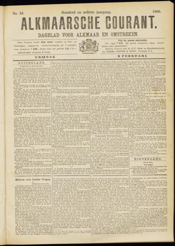 Alkmaarsche Courant 1906-02-09