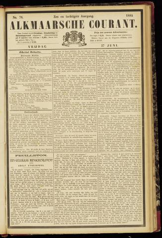 Alkmaarsche Courant 1884-06-27