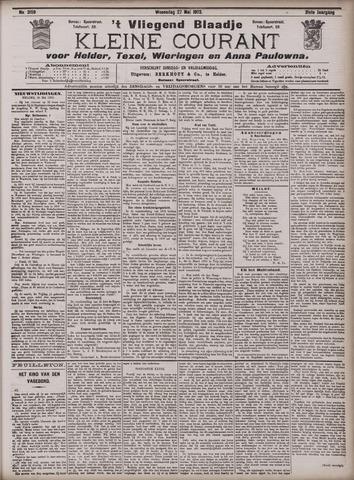 Vliegend blaadje : nieuws- en advertentiebode voor Den Helder 1903-05-27