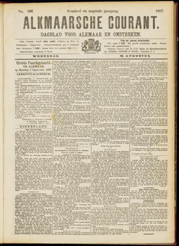 Alkmaarsche Courant 1907-08-21