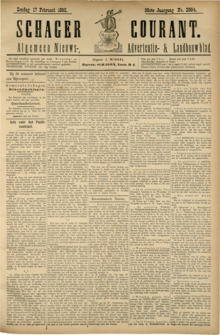 Schager Courant 1895-02-17