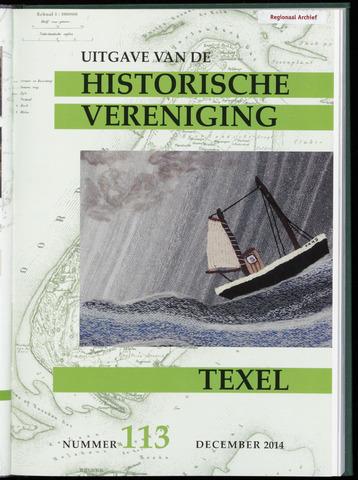 Uitgave Historische Vereniging Texel 2014-12-01
