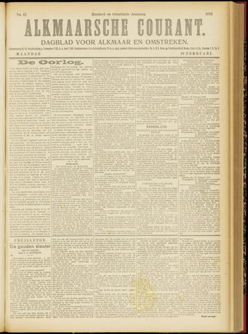 Alkmaarsche Courant 1918-02-18