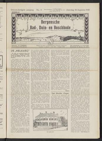 Bergensche bad-, duin- en boschbode 1949-08-20