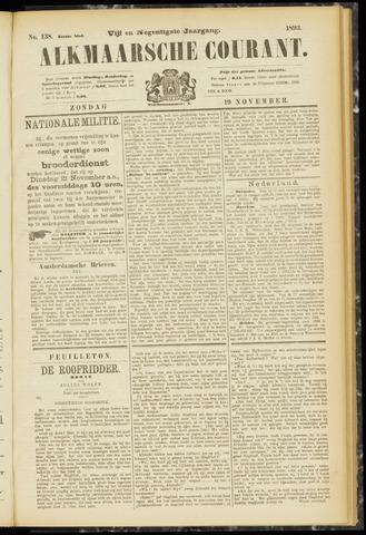 Alkmaarsche Courant 1893-11-19