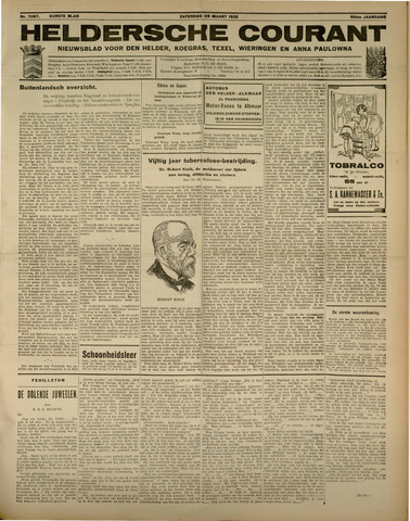 Heldersche Courant 1932-03-26